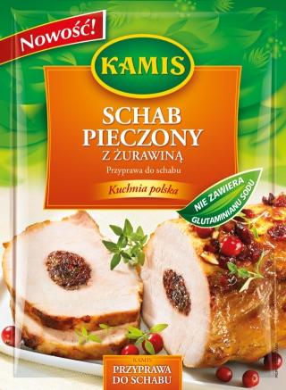 Kamis Kuchnia Polska Schab Pieczony Z żurawiną Przyprawa Do