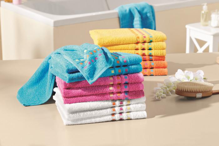 Lidl Miomare Ręczniki Frotte Z Dekoracyjną Haftowaną Bordiurą